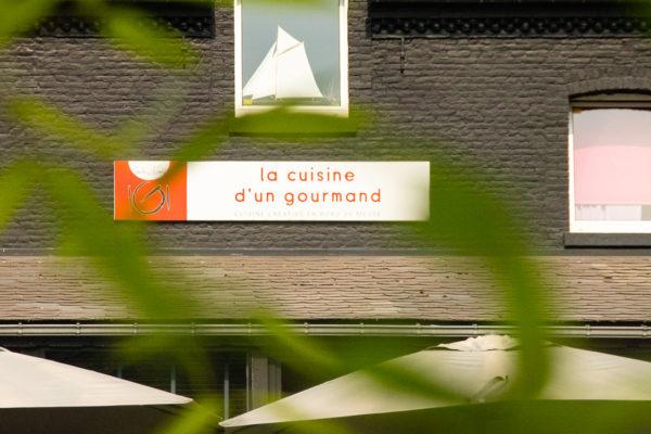 Namur Profondeville Restaurant Gastronomique Bib Gourmand Michelin Terrasse John Maes Jardin